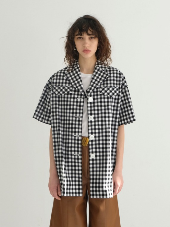 BRAD OVERSIZED CHECK SHIRT