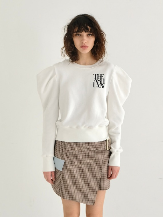 [홍진영착용] NEW KATE SWEATSHIRT_B&W (2 COLORS)