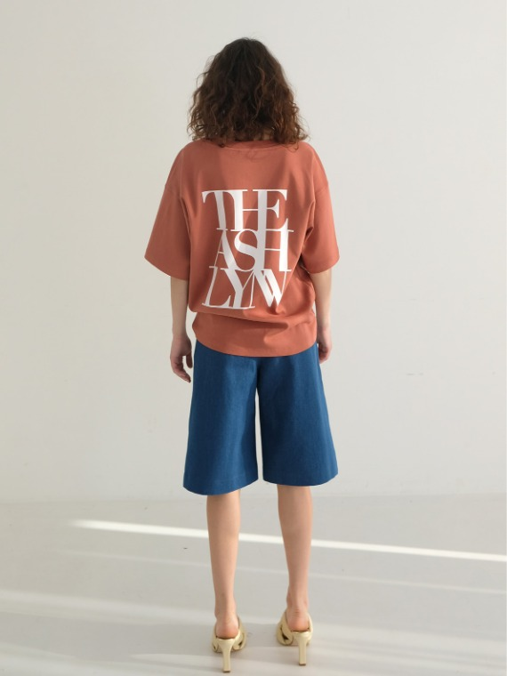 BEN OVERSIZED BACK LOGO T (3 COLORS)