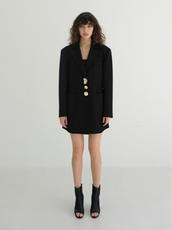 GIA OVERSIZED WOOL JACKET